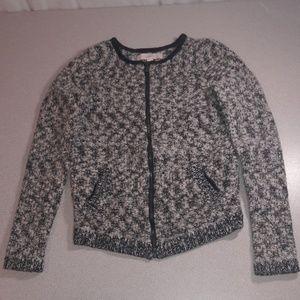 Loft Zip Up Sweater